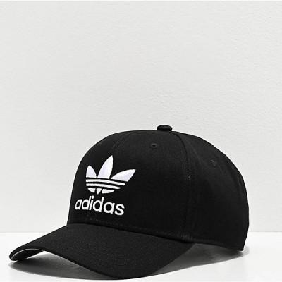 アディダス ADIDAS メンズ キャップ スナップバック 帽子 adidas Originals Relaxed Black Snapback Hat Black