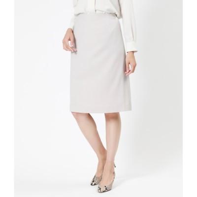 【ニューヨーカー/NEWYORKER】 【ウォッシャブル】ポリエステル 台形スカート
