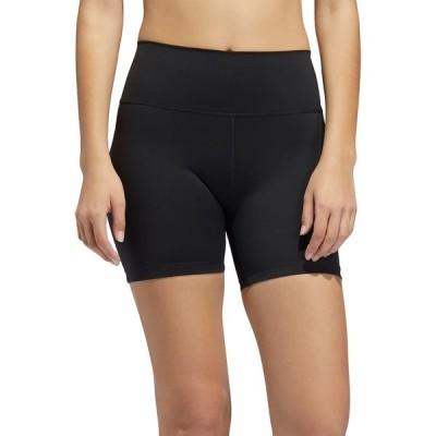 アディダス カジュアルパンツ ボトムス レディース adidas Women's Believe This 2.0 Fitted Shorts Black