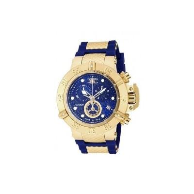 海外セレクション 腕時計 Invicta 15800 メンズ サブアクア アナログ ディスプレイ スイス クォーツ ブルー 腕時計