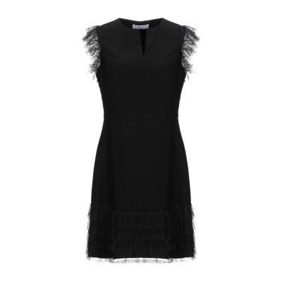 ブルーガール ブルマリン BLUGIRL BLUMARINE ミニワンピース&ドレス ブラック 38 ポリエステル 100% / ナイロン ミニワン
