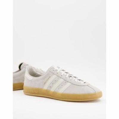 アディダス adidas Originals メンズ スニーカー シューズ・靴 Broomfield trainers in cream クリーム