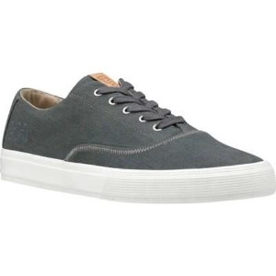 ヘリーハンセン メンズ スニーカー シューズ Azure Sneaker Charcoal/Off White Canvas