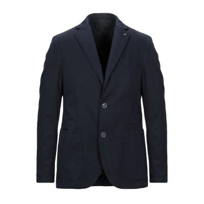 アティピコ AT.P.CO テーラードジャケット ダークブルー 46 コットン 75% / 麻 25% テーラードジャケット