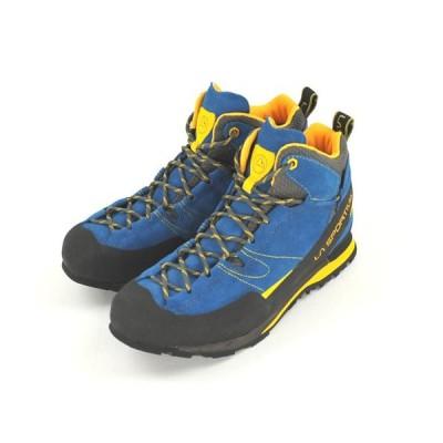 ラ・スポルティバ LA SPORTIVA GTX Boulder X Mid Blue/Yellow ボルダーX ミッド 登山靴