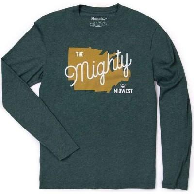 ムースジョー Moosejaw メンズ ハイキング・登山 長袖Tシャツ トップス Fried Mush Vintage Regs LS Tee Forest