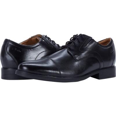 クラークス Clarks メンズ シューズ・靴 Whiddon Cap Black Leather