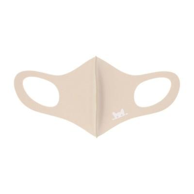 100周年記念 3Dマスク Sサイズ ベージュ・猫 S