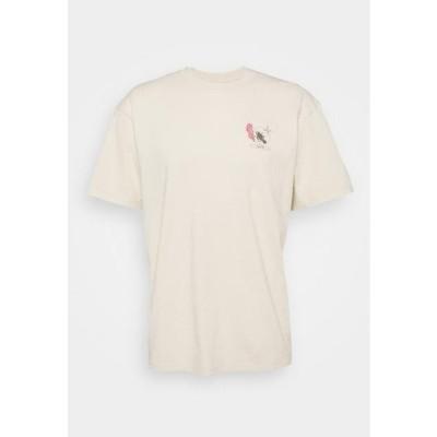 エドウィン メンズ ファッション TAROT DECK UNISEX - Print T-shirt - pelican