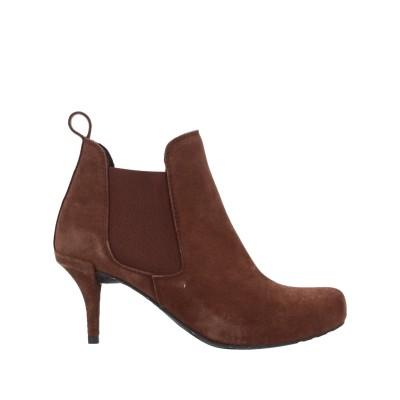 ペドロガルシア PEDRO GARCÍA ショートブーツ ブラウン 36 革 / 指定外繊維(その他伸縮性繊維) ショートブーツ