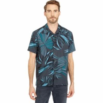 ハーレー Hurley メンズ 半袖シャツ カジュアルシャツ トップス Phantom Iwa Camo Aloha Short Sleeve Woven Black
