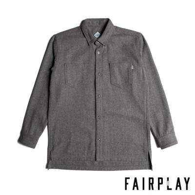 【FAIRPLAY BRAND/フェアプレイブランド】COLT 長袖シャツ / GREY