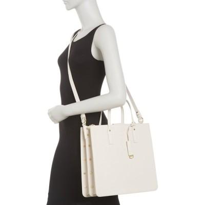 エイミー ケステンバーグ レディース トートバッグ バッグ Mariah Triple Entry Tote Bag WHITE SIGNATURE EMBO