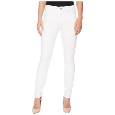 エヌワイディージェイ デニムパンツ ボトムス レディース Ami Skinny Leggings in Optic White Optic White