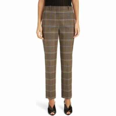 ジバンシー GIVENCHY レディース ボトムス・パンツ Check Wool Pants Blue/Beige