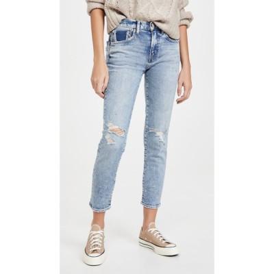 マウジー MOUSSY VINTAGE レディース ジーンズ・デニム スキニー ボトムス・パンツ Billings Skinny Jeans Blue