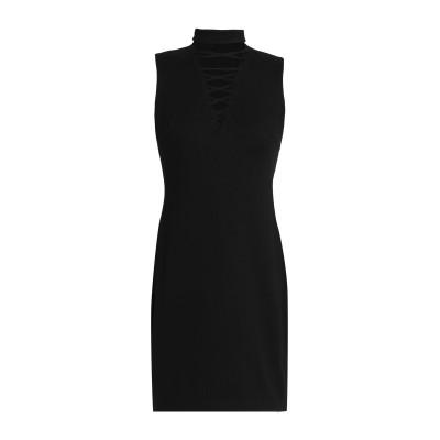 BAILEY 44 ミニワンピース&ドレス ブラック L レーヨン 61% / ナイロン 35% / ポリウレタン 4% ミニワンピース&ドレス