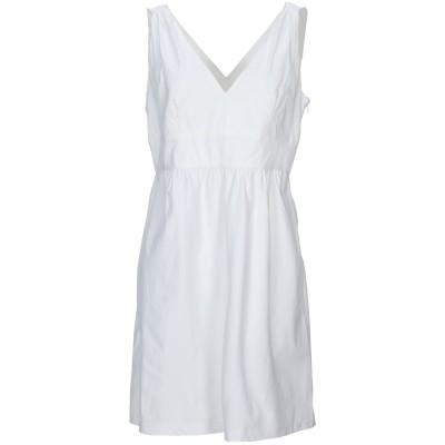 MARINA YACHTING ミニワンピース&ドレス アイボリー L コットン 98% / ポリウレタン 2% ミニワンピース&ドレス