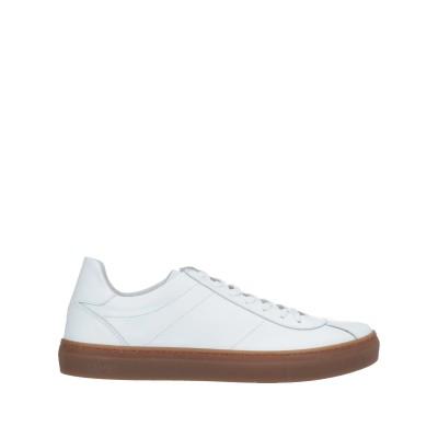 LIU •JO MAN スニーカー&テニスシューズ(ローカット) ホワイト 41 革 スニーカー&テニスシューズ(ローカット)