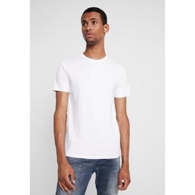 ジャック アンド ジョーンズ Tシャツ メンズ トップス JJEORGANIC - Basic T-shirt - white
