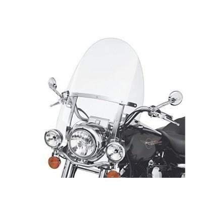 "28"" x 22""取り外し可能クイックリリースフロントガラスfor Harley Road King 94–18クリア"