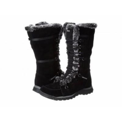 SKECHERS スケッチャーズ レディース 女性用 シューズ 靴 ブーツ スノーブーツ Grand Jams Unlimited Black Suede【送料無料】