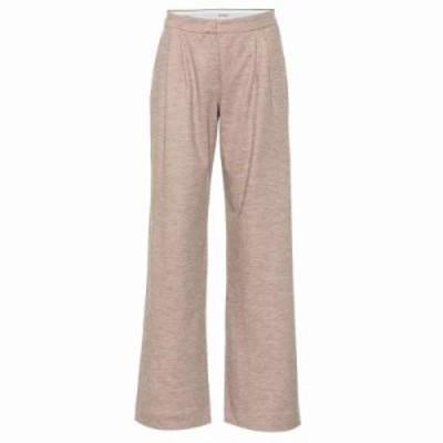 マックスマーラ その他ボトムス・パンツ Dondolo wool and cotton pants