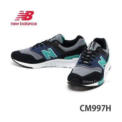 ニューバランス NEWBALANCE CM997H スニーカー メンズ シューズ 靴 ランニング タウンユース MENS カラー:BLACK/VERDITE