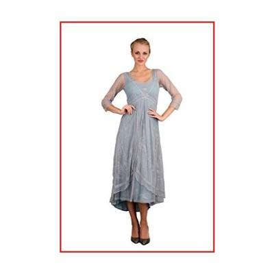 【新品】Nataya 40163 Women's Downton Abbey Vintage Style Wedding Gown in Sunrise (Small)【並行輸入品】