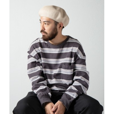 Ray's Store / Cotton Braid Soft Beret / コットンブレードソフトベレー MEN 帽子 > ハンチング/ベレー帽