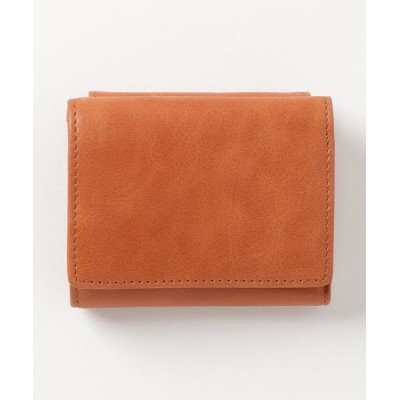 FUNALIVE / 【AVANT】クラシックレザー三つ折りミニ財布 MEN 財布/小物 > 財布