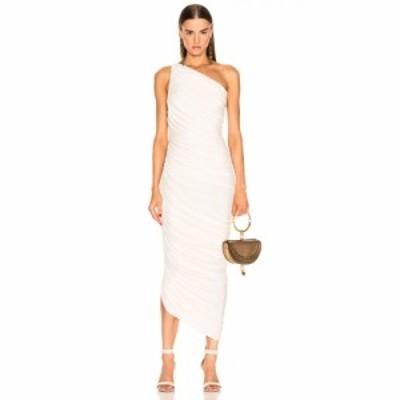 ノーマ カマリ Norma Kamali レディース パーティードレス ワンピース・ドレス Diana Gown Ivory