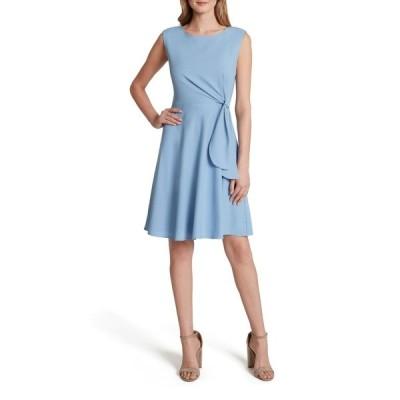 タハリ レディース ワンピース トップス Side Tie Fit & Flare Dress PERIWINKLE