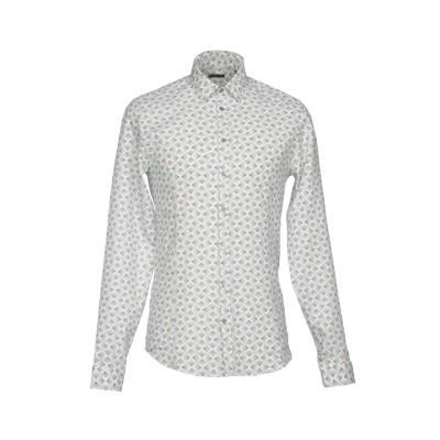 パトリツィア ペペ PATRIZIA PEPE シャツ ブラック 48 麻 64% / コットン 36% シャツ