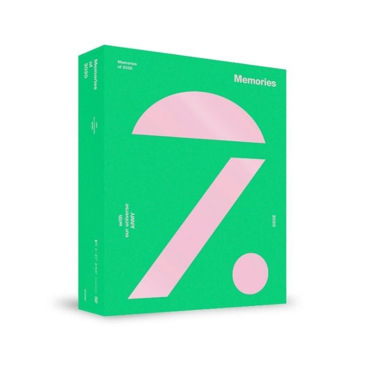 BTS - MEMORIES OF 2020 回憶錄 DVD BLU-RAY 藍光 [佳美稀]