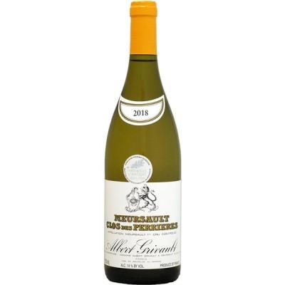 白ワイン wine ドメーヌ・アルベール・グリヴォ ムルソー 1er クロ・デ・ペリエール 2018年 750ml