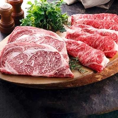 [熊本]肥後熊本牛ロースセット がっつり食べたいステーキ