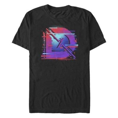 フィフスサン Tシャツ トップス メンズ Men's Digital D Logo Short Sleeve Crew T-shirt Black
