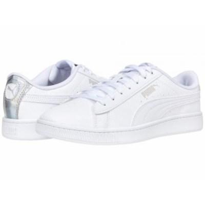 PUMA プーマ レディース 女性用 シューズ 靴 スニーカー 運動靴 Vikky V2 Sig-Iri Puma White/Puma White/Gray Violet【送料無料】