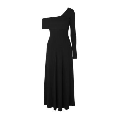 ブーフィレ BEAUFILLE 7分丈ワンピース・ドレス ブラック XS レーヨン 96% / ポリウレタン 4% 7分丈ワンピース・ドレス