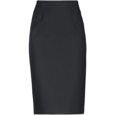 ピンコ PINKO 7分丈スカート ブラック 40 ポリエステル 53% / ウール 44% / ポリウレタン 3% 7分丈スカート