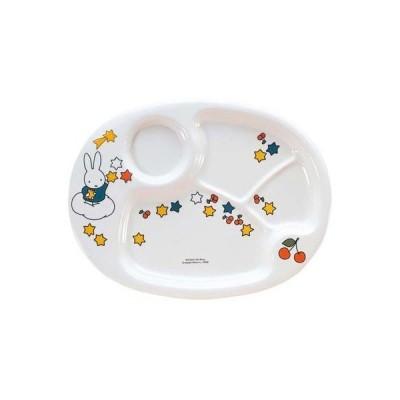 【納期目安:1週間】関東プラスチック RLVA6 メラミン子供食器 ミッフィー ランチ皿 CM-69