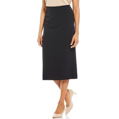 プレストンアンドヨーク レディース スカート ボトムス Taylor Stretch Crepe Suiting Midi Pencil Skirt Navy