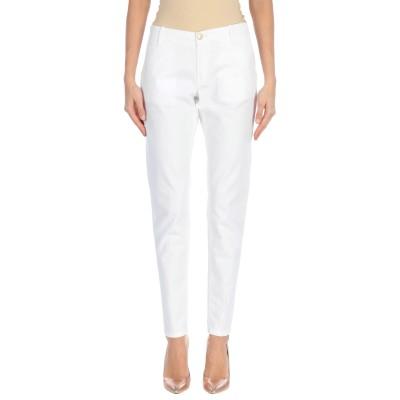 NO LAB パンツ ホワイト 25 コットン 97% / ポリウレタン 3% パンツ
