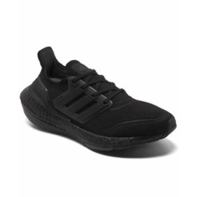 アディダス レディース スニーカー シューズ Women's UltraBOOST 21 Primeblue Running Sneakers from Finish Line Core black