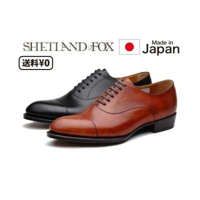 リーガル SHETLANDFOX シェットランドフォックス メンズビジネス ストレートチップ 011F SF