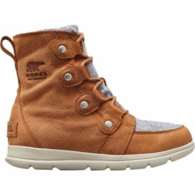 ソレル Sorel レディース ブーツ シューズ・靴 Explorer Joan Boot Camel Brown Full Grain Leather/Textile