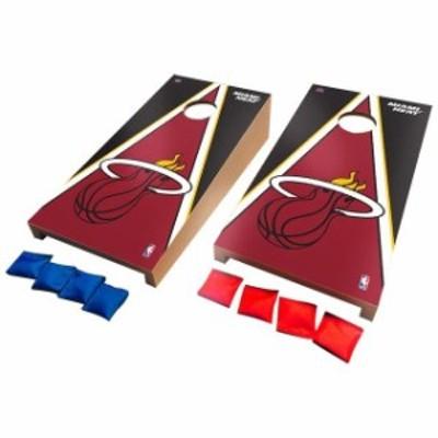 Victory Tailgate ビクトリー テイルゲート スポーツ用品  Miami Heat Desktop Triangle Cornhole Game Set