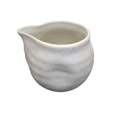 粉引風変形汁次(中) (ト289-205)
