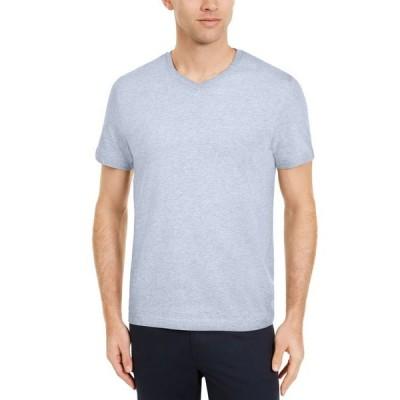 クラブルーム メンズ Tシャツ トップス Men's Solid V-Neck T-Shirt